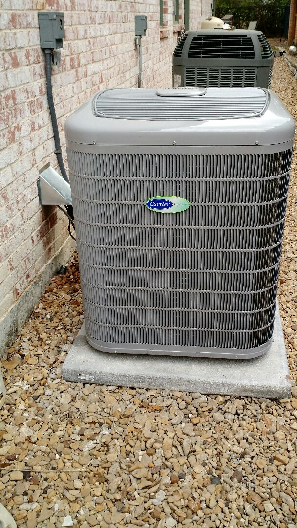 Plano, TX - Installed complete system with zoning for a family in plano tx