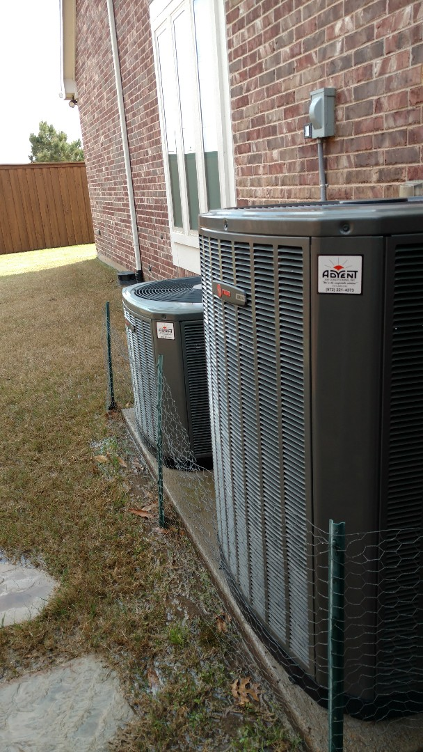 Frisco, TX - 2 zone cooling