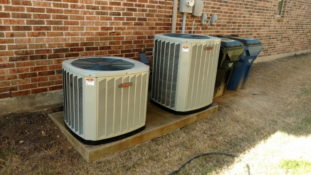 Frisco, TX - 2 Trane system cooling maintenance