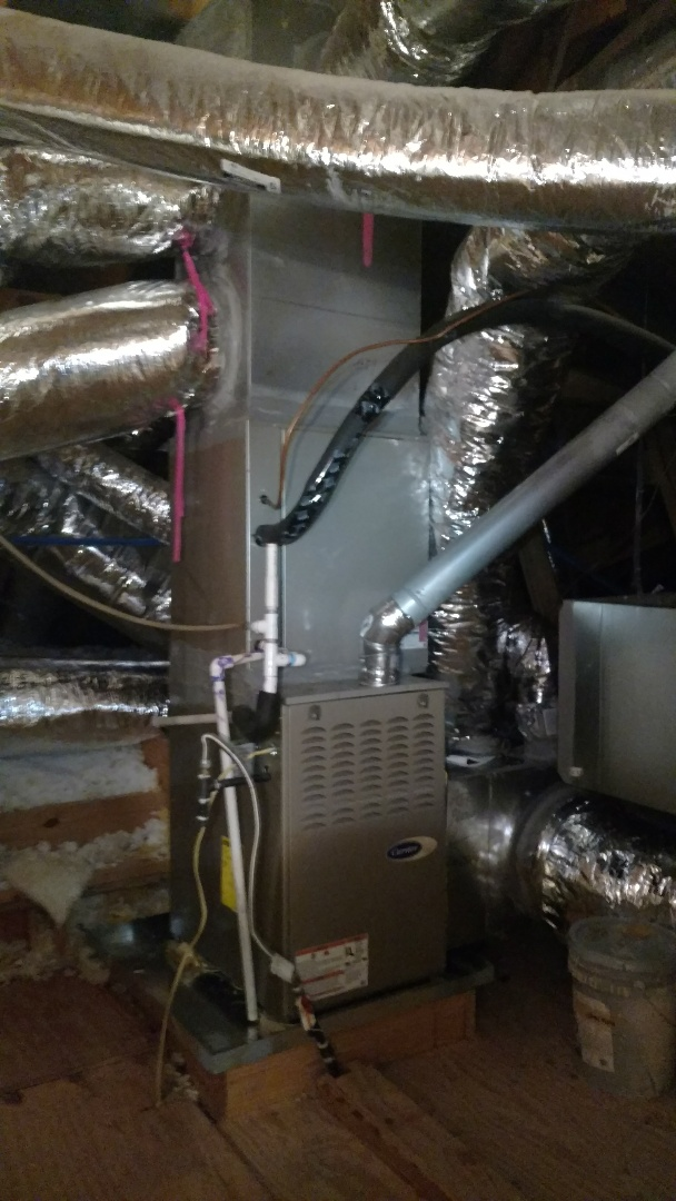 Frisco, TX - Install 19 seer carrier inifinity system