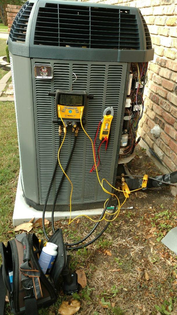 Plano, TX - Preventative spring Maintenance in Plano.