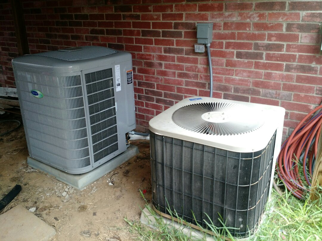 Justin, TX - Installed a new Infinity system in Justin