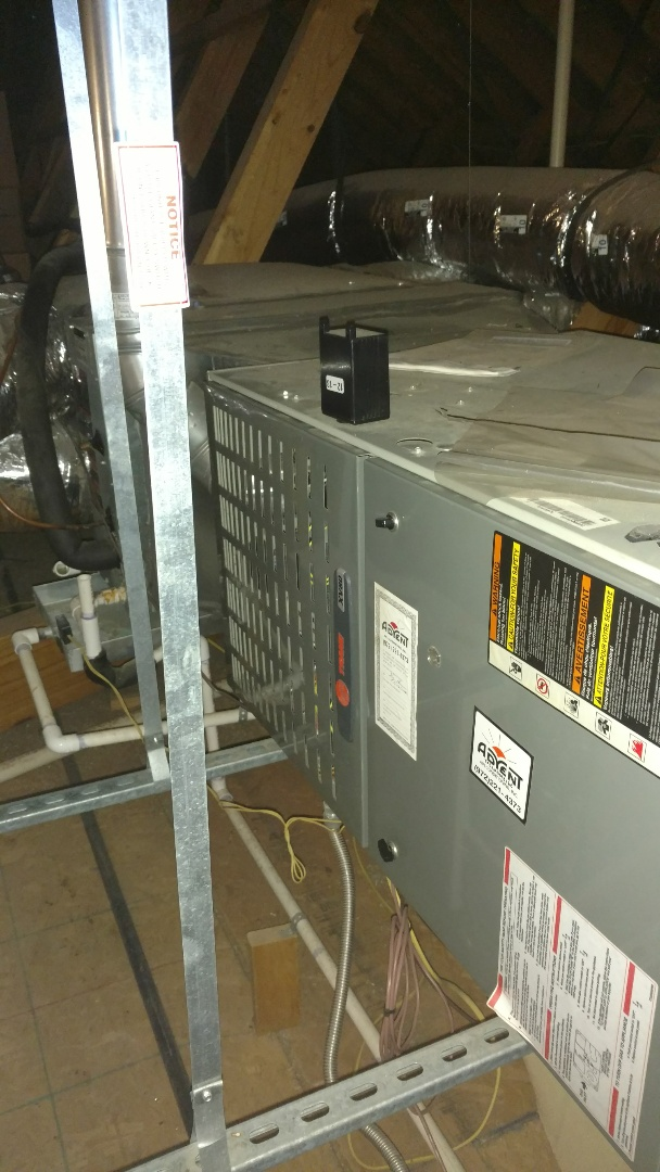 Frisco, TX - One system heating Maintenance in Frisco.