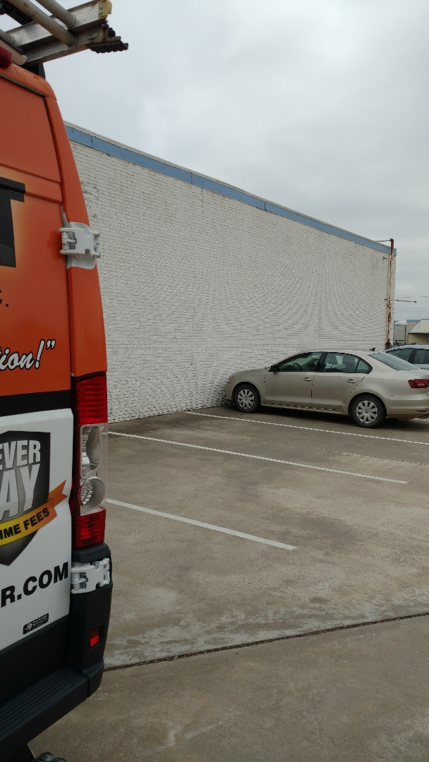 Garland, TX - Correcting a wiring issue. Yes even we make mistakes, but we stand by our work. Our miss step is no charge to you.