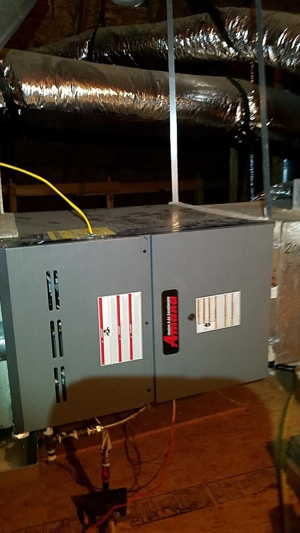 Rockwall, TX - 1 Zone heat maintenance