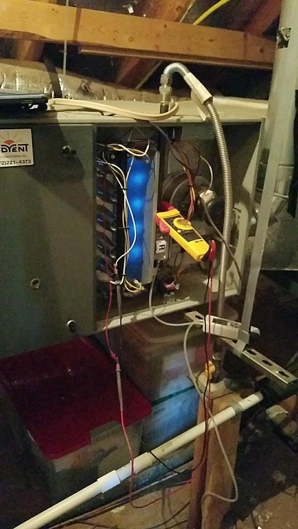 Keller, TX - Heating maintenance and cleaning in Keller TX