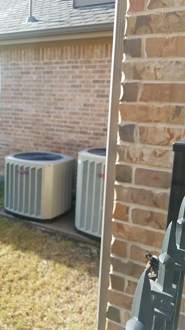 McKinney, TX - Two Zone cooling maintenance