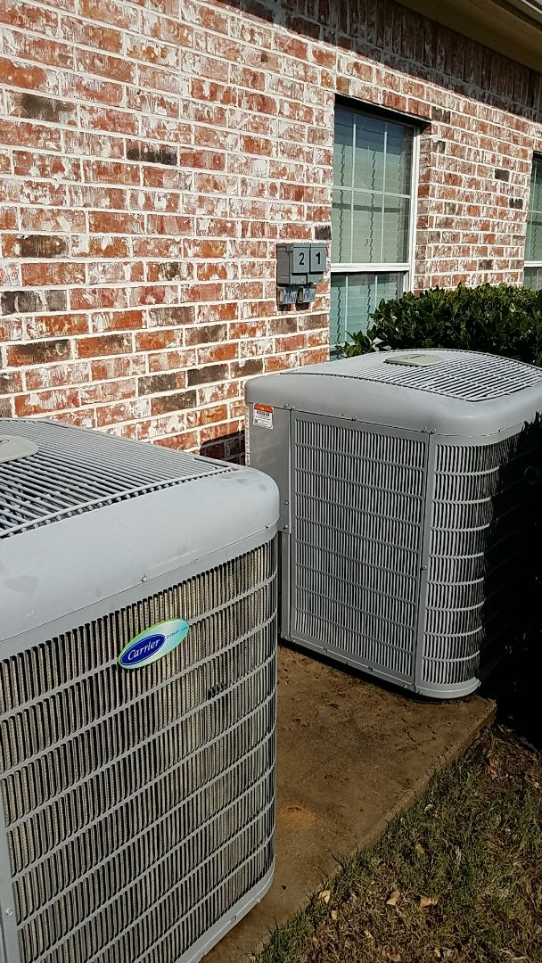 Lantana, TX - Service unit not cooling