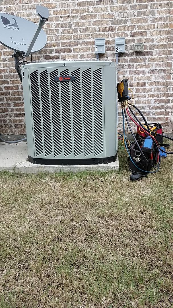Prosper, TX - Repairs on upstairs A/C system.