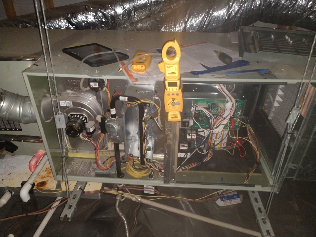 Carrollton, TX - Two system gas heating precision tune up