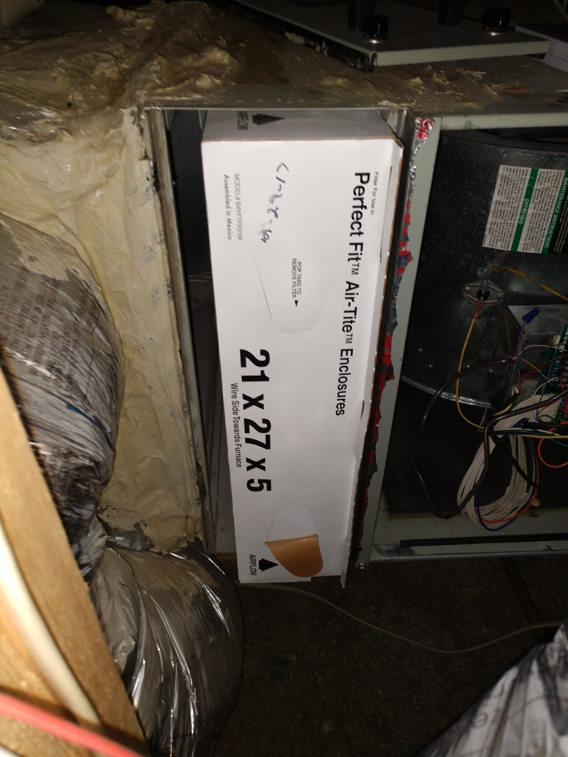 Lewisville, TX - 2 gas heating system winter tune-up performed by Buddy Peterson from Advent.