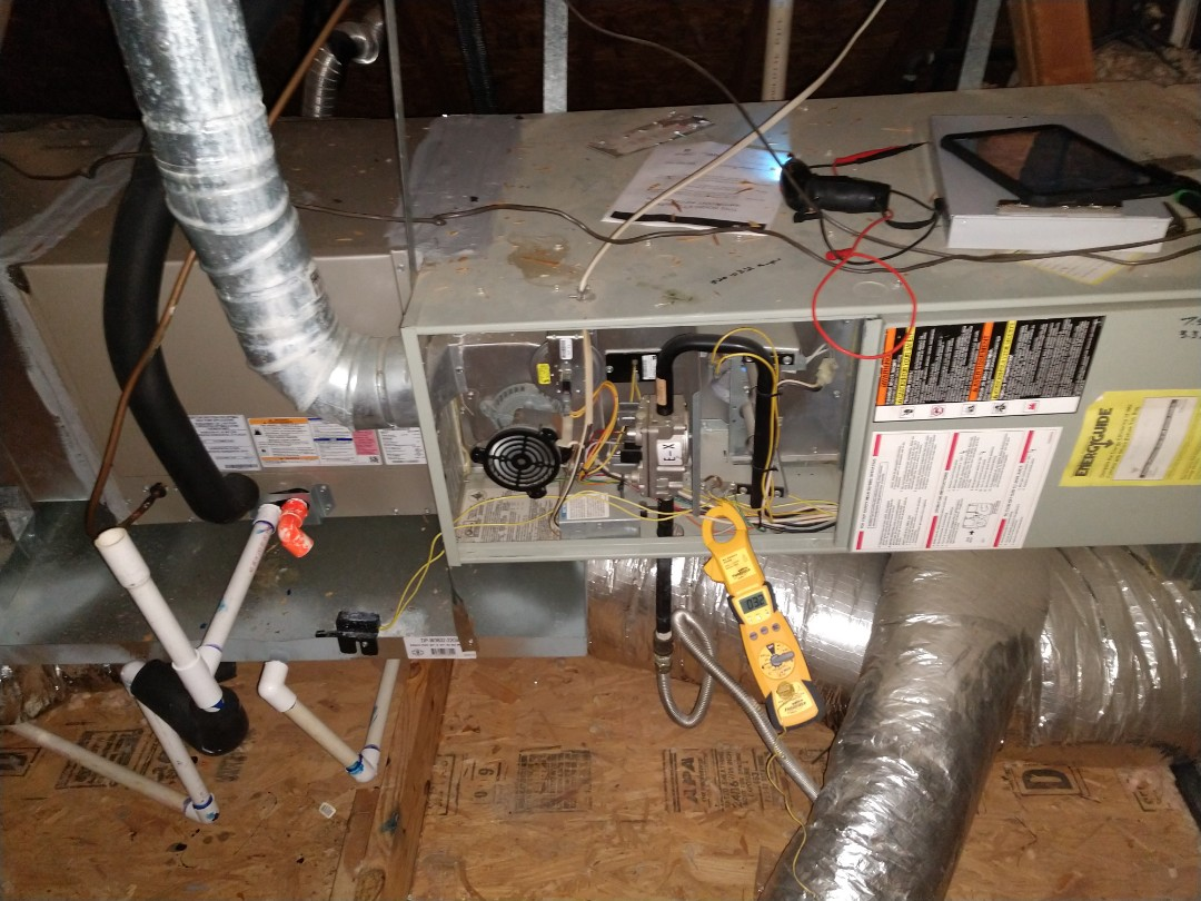 Double Oak, TX - 3 heating system dual fuel heat pump and gas, winter tune ups