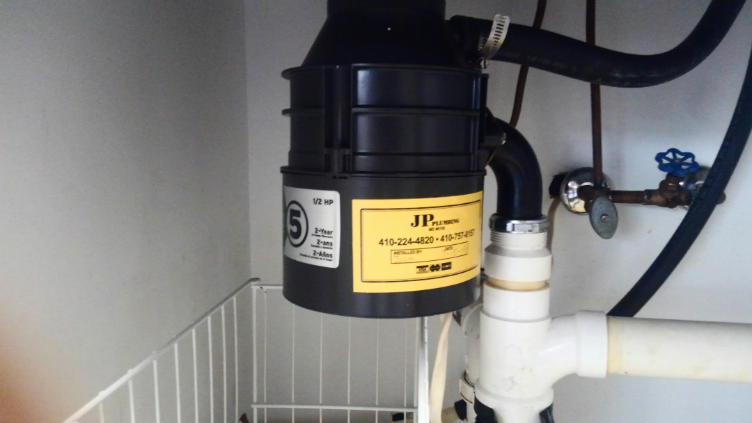 Annapolis, MD - Replaced a Insinkerator Badger 5 disposal