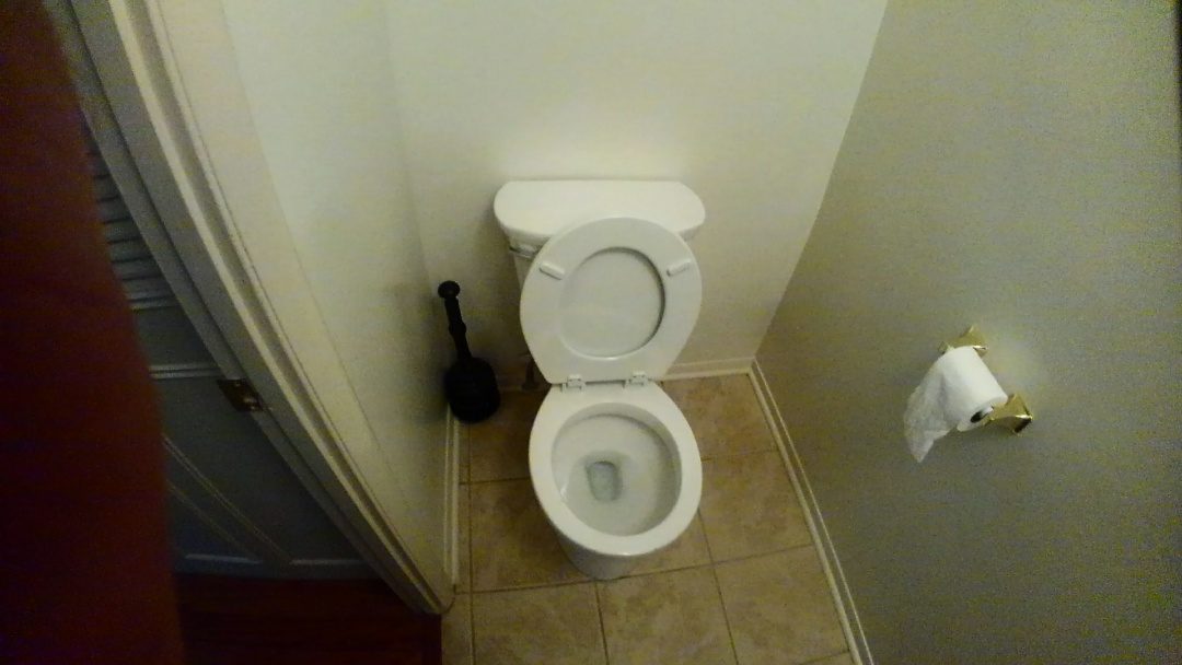 Gambrills, MD - Installing a new American Standard Cadet toilet and repairs to a Delta faucet