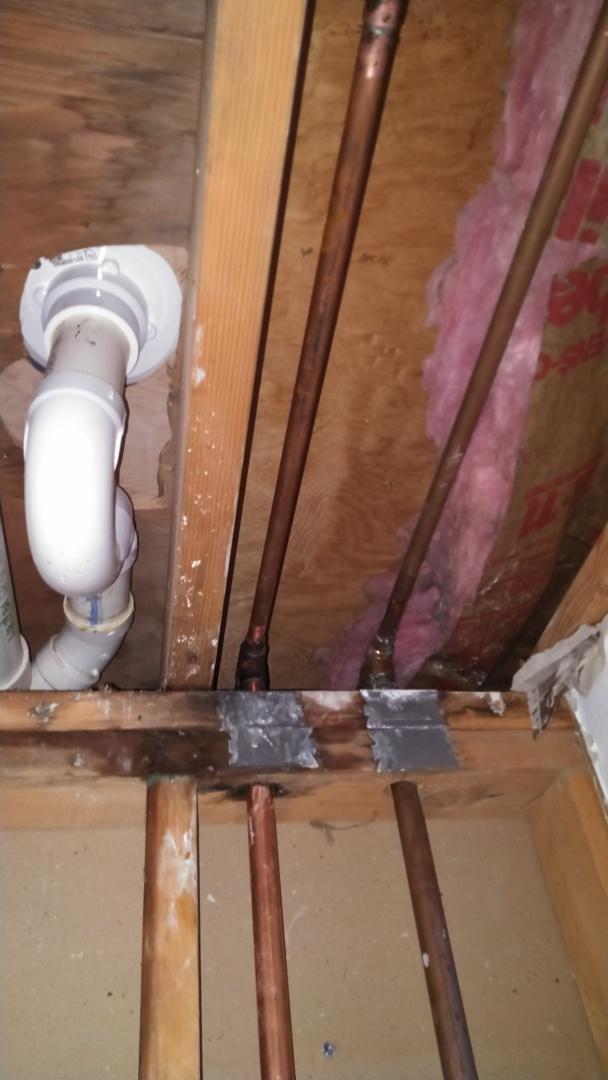 Severna Park, MD - Repair pinhole leak in a copper pipe