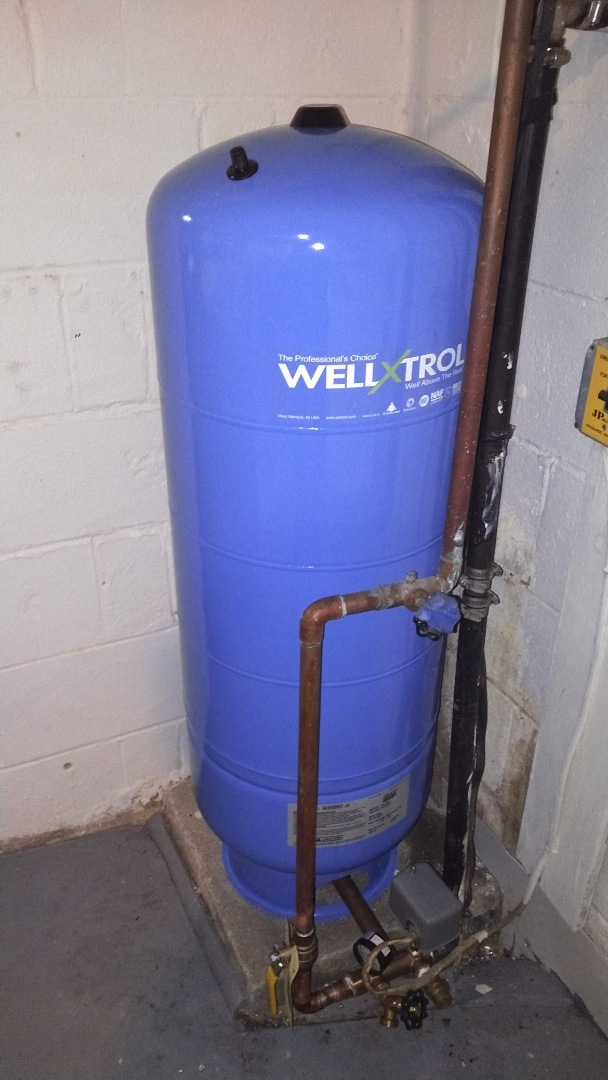 Annapolis, MD - Replace a Welxtrol #203 Well Tank