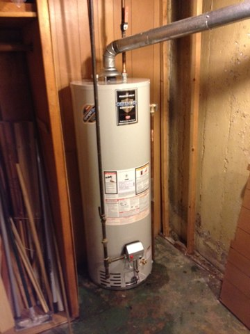 Hinsdale, IL - Installed new 50 gal. Bradford white water heater