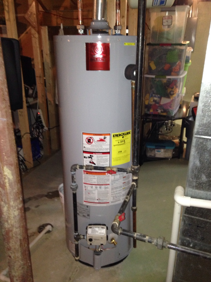 Woodridge, IL - Installed new state select 50 gallon hot water heater.