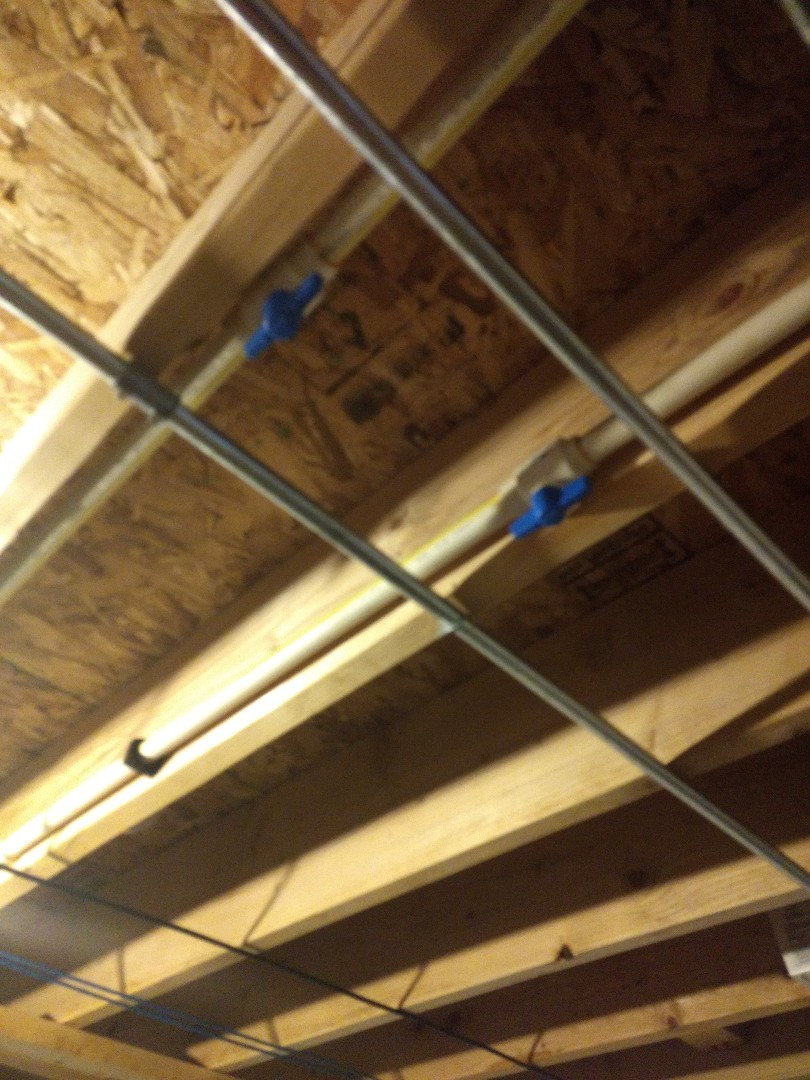 Installed to CPVC isolation valves for water supply to kitchen, in Bolingbrook.