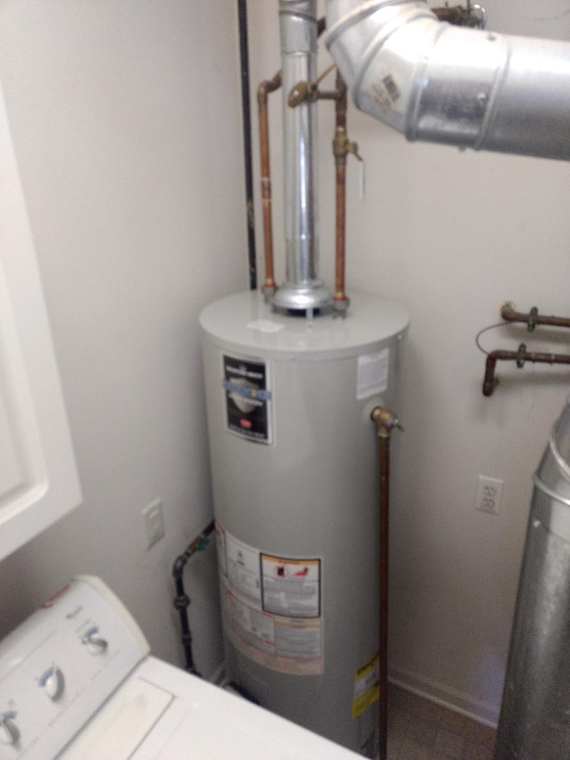 Romeoville, IL - Installed 40 gallon Bradford White Water Heater in Romeoville.