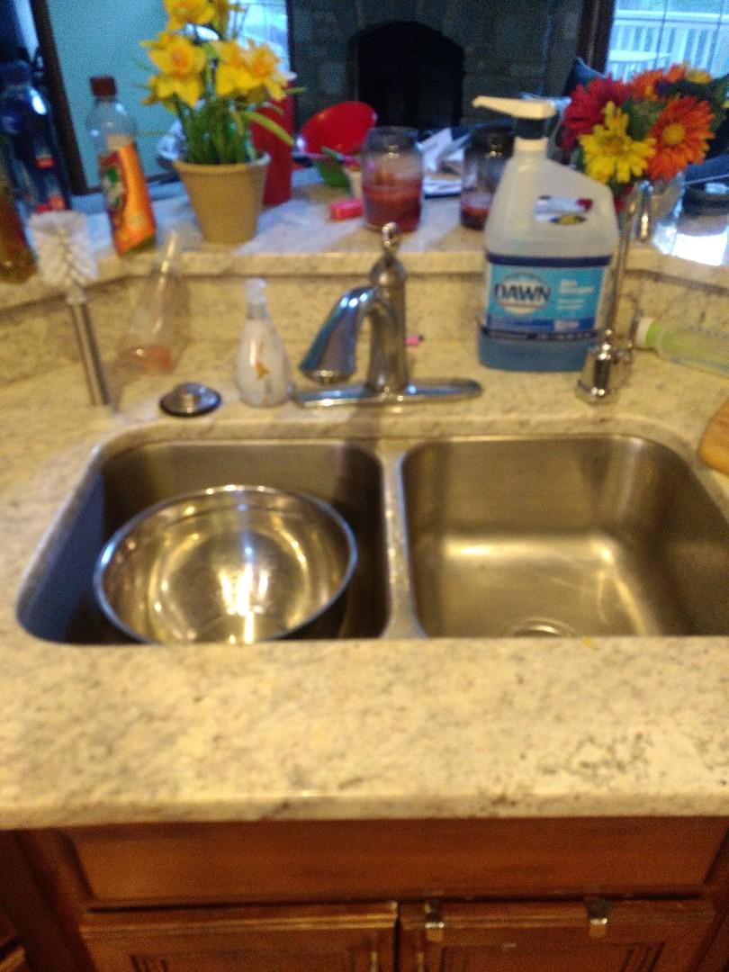 Shorewood, IL - Kitchen sink rodding, in Plainfield.