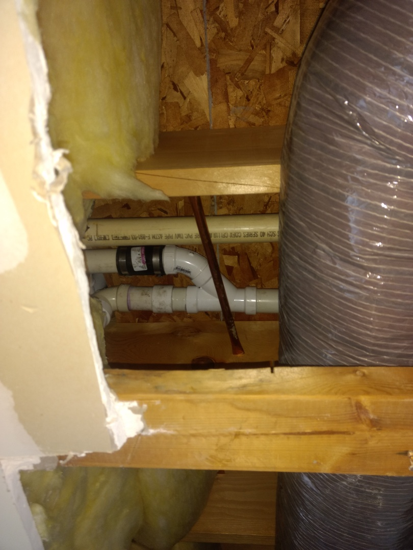 Bolingbrook, IL - Cut out section of damaged shower sewer and replaced, in Bolingbrook.