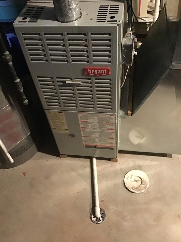 Rochester, MI - Furnace leaking water