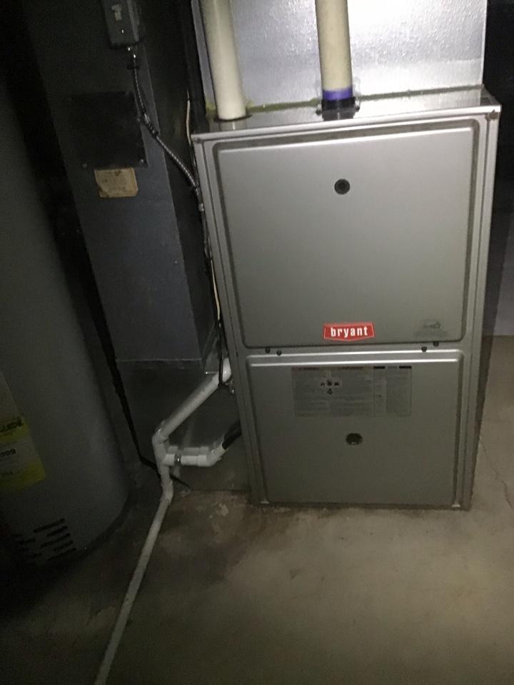 Clinton Township, MI - Furnace inspection on Bryant system
