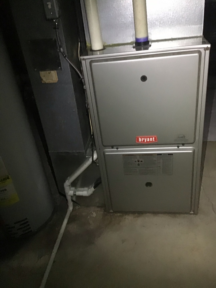 Warren, MI - Furnace inspection on a Bryant system