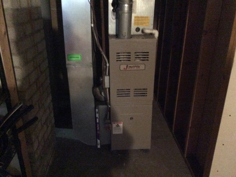 Madison Heights, MI - Furnace tune up for consumers energy / clear results