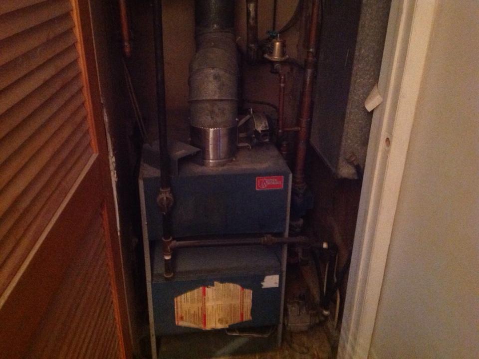 Leonard, MI - Boiler inspection.