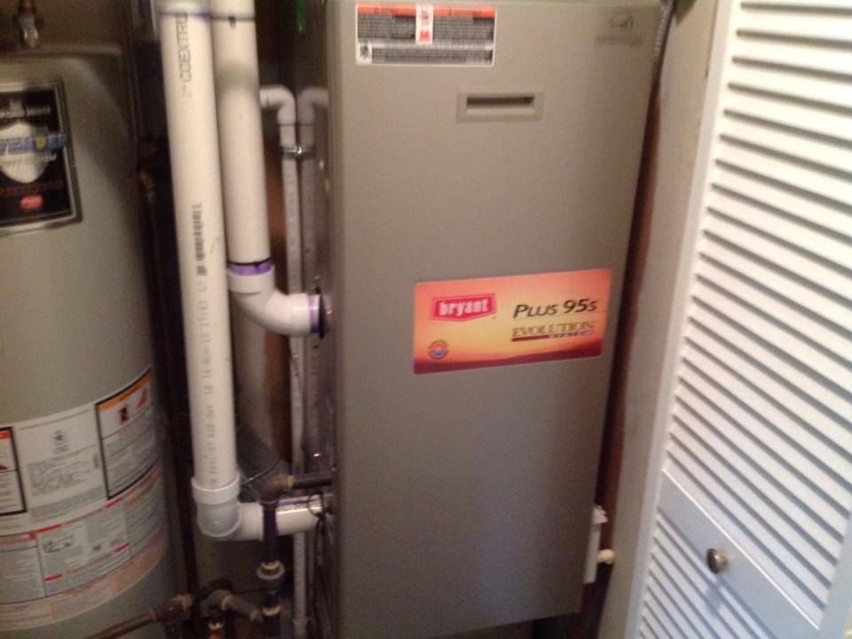 Clawson, MI - Service on a residential Bryant furnace in clawson.