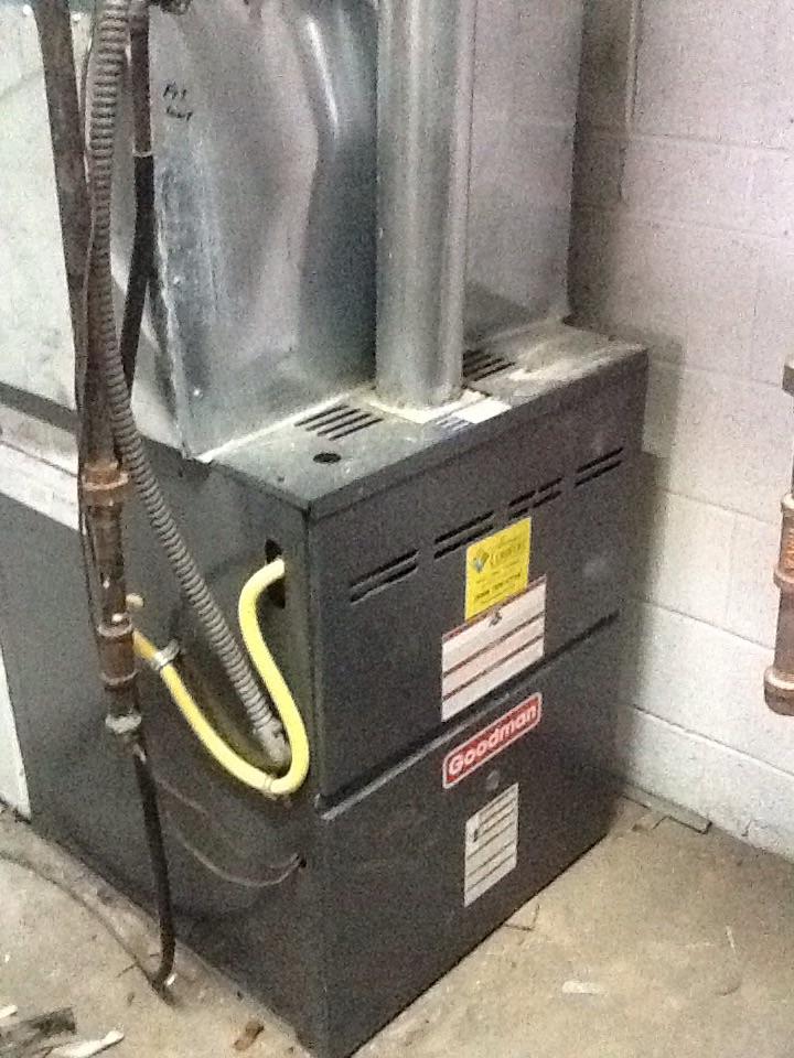 Auburn Hills, MI - Goodman furnace not heating