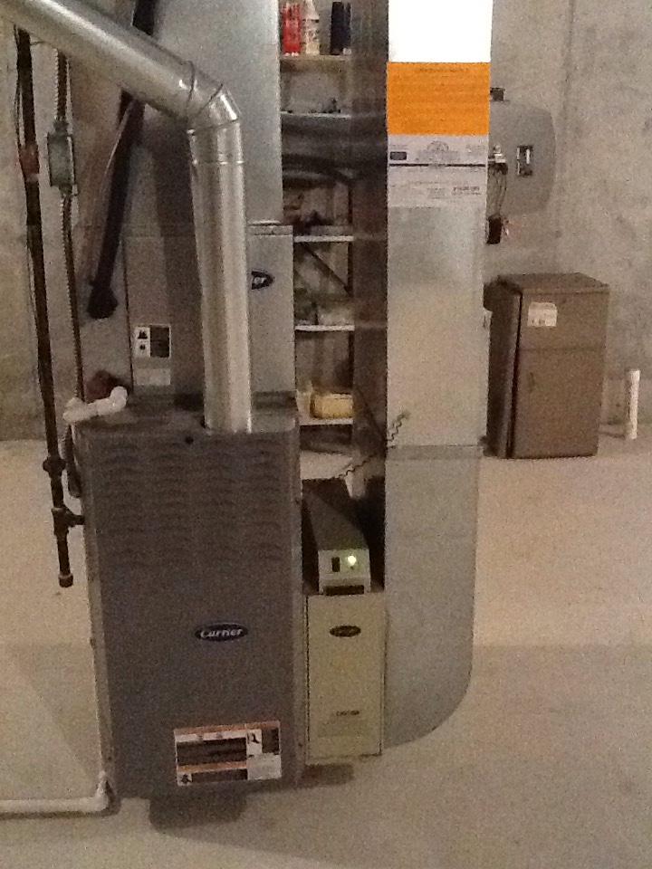 Auburn Hills, MI - Carrier furnace not heating