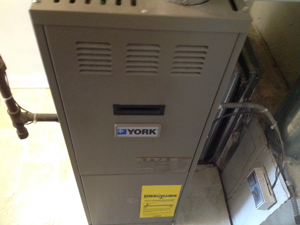 Clawson, MI - Service on a residential York furnace in clawson