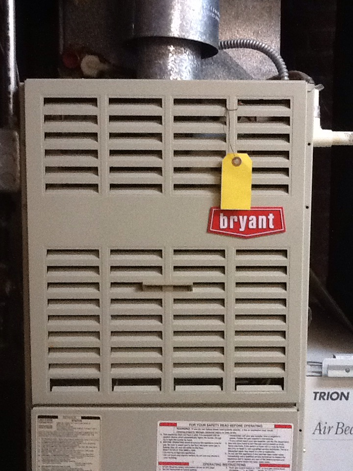 Auburn Hills, MI - Furnace inspection on Bryant system