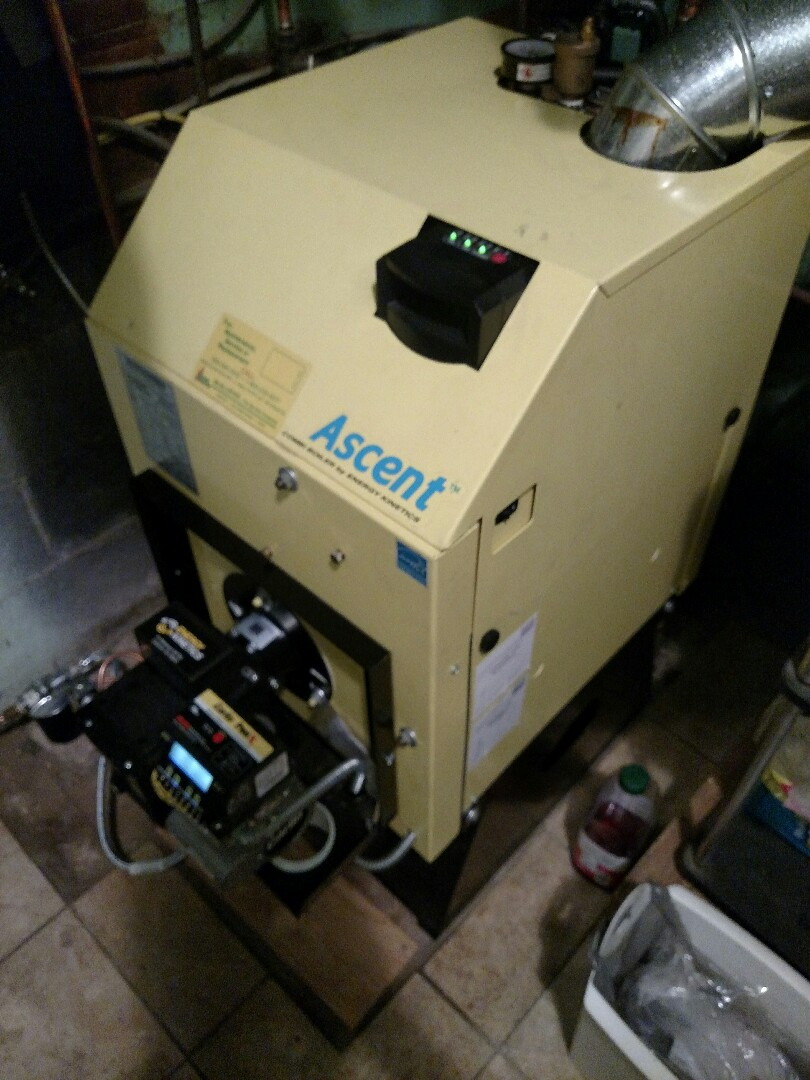 Lindenwold, NJ - Repairing an Energy Kinetics oil fired boiler