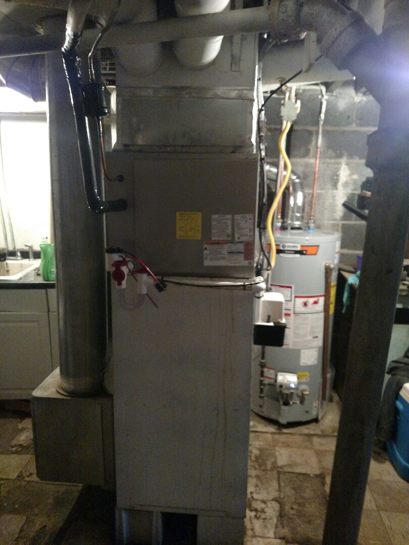 Camden, NJ - Replacement of a Air conditioner and State pro line water heater!! New Payne outdoor condenser and indoor evaporator coil.
