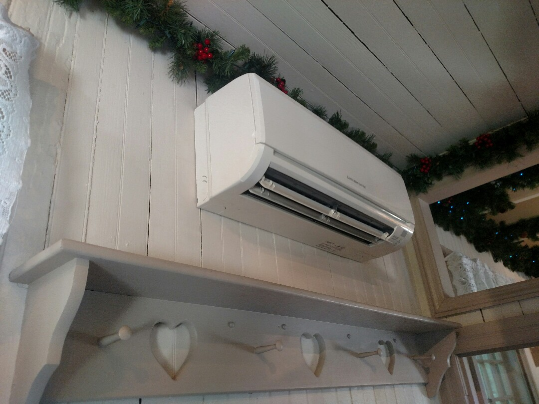 Wenonah, NJ - Replacing a blower and sleeve bearing on a Mitsubishi Mr. Slim ductless air conditioner.