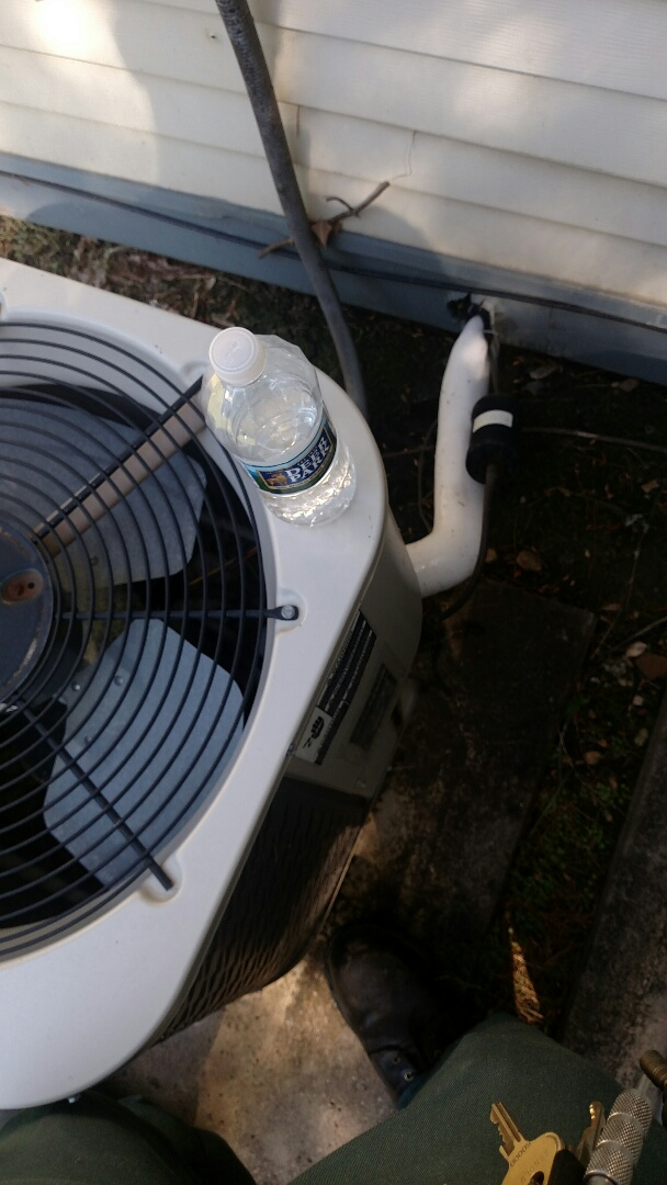 Gloucester City, NJ - Frozen coil on a Gibson air conditioner.