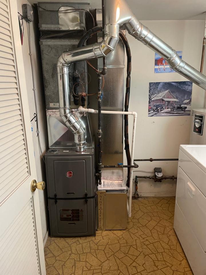 Pennsauken Township, NJ - Install heater and new filter box w/ ductwork