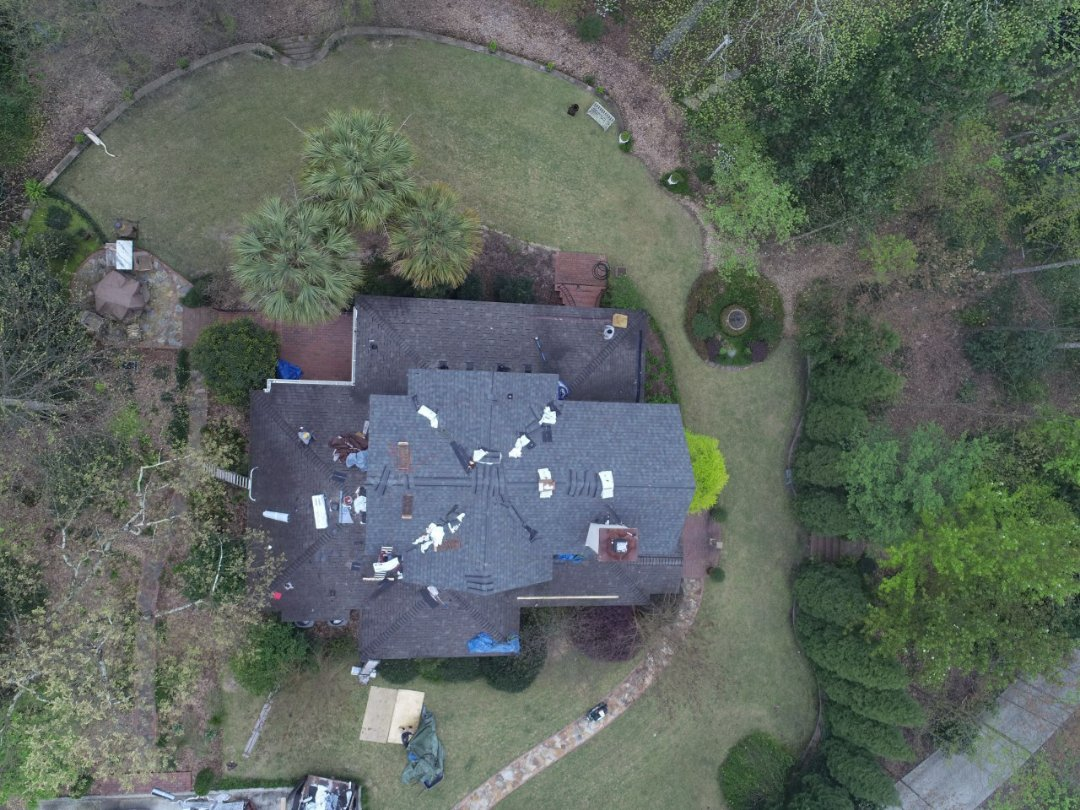 Aiken, SC - Roof Replacement Using Atlas Pinacle Pristine Architecture Asphault Shingles with Scotchguard