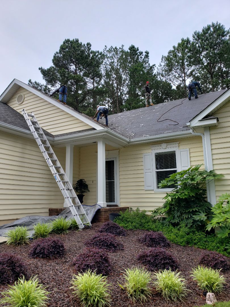 McCormick, SC - Roof replacement due to hail damage with atlas Pinacle pristine shingkes