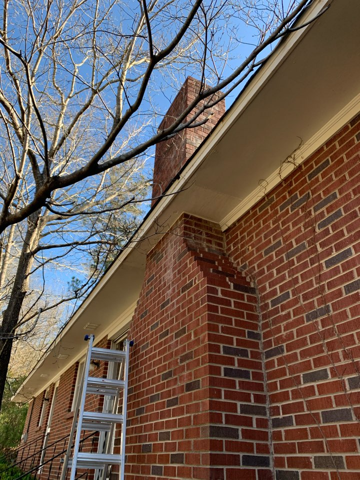 Batesburg-Leesville, SC - South Point Roofing and Construction completed repairs to the roof and flashing around a chimney as well as repaired rotted soffit for a customer in Batesburg-Leesville, SC.