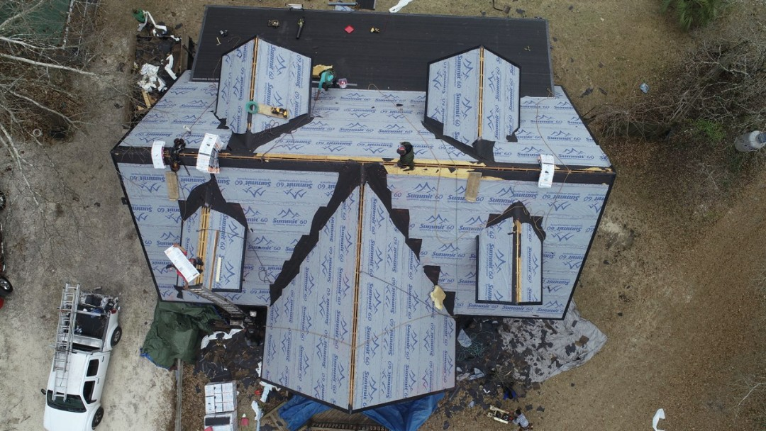 , SC - Residential roof replacement and siding repair in Batesburg- Leesville, using atlas pinnacle pristine architectural asphault shingles with scotchguard by 3M and certinteed fiber cement board with South Point Roofing and Construction