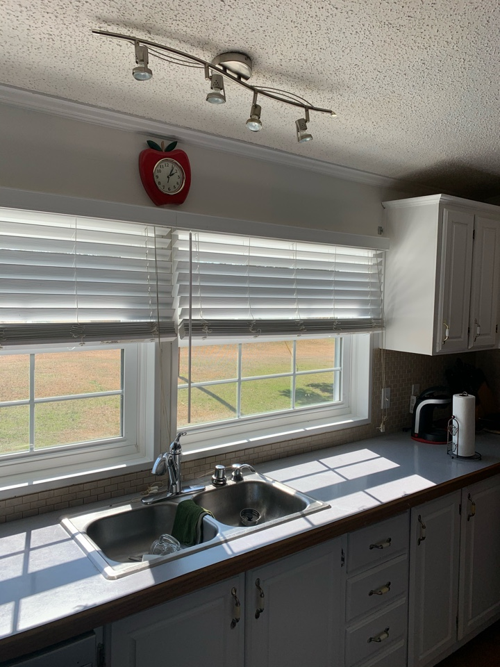 Batesburg-Leesville, SC - South Point Roofing and Construction replaced existing windows with  brand new double hung windows In Batesburg, SC.