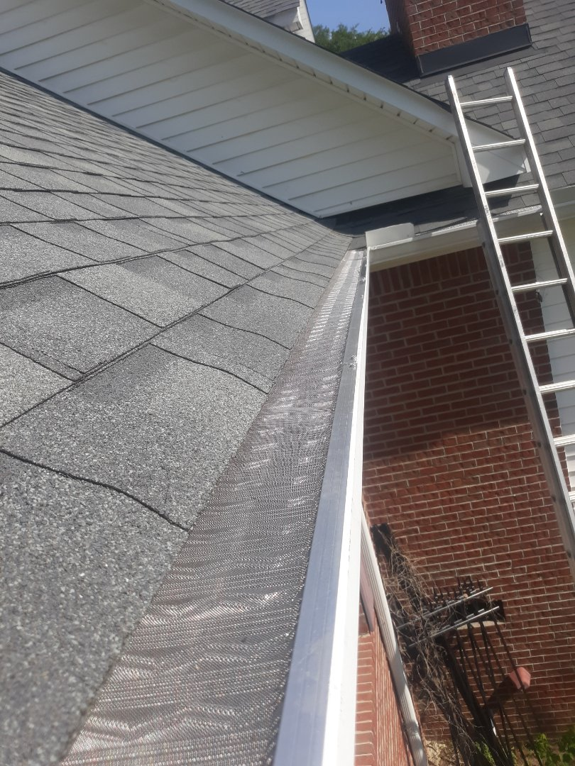 Wagener, SC - South Point Roofing and Construction is installing LeafBlaster pro gutter guards in Wagner, SC.
