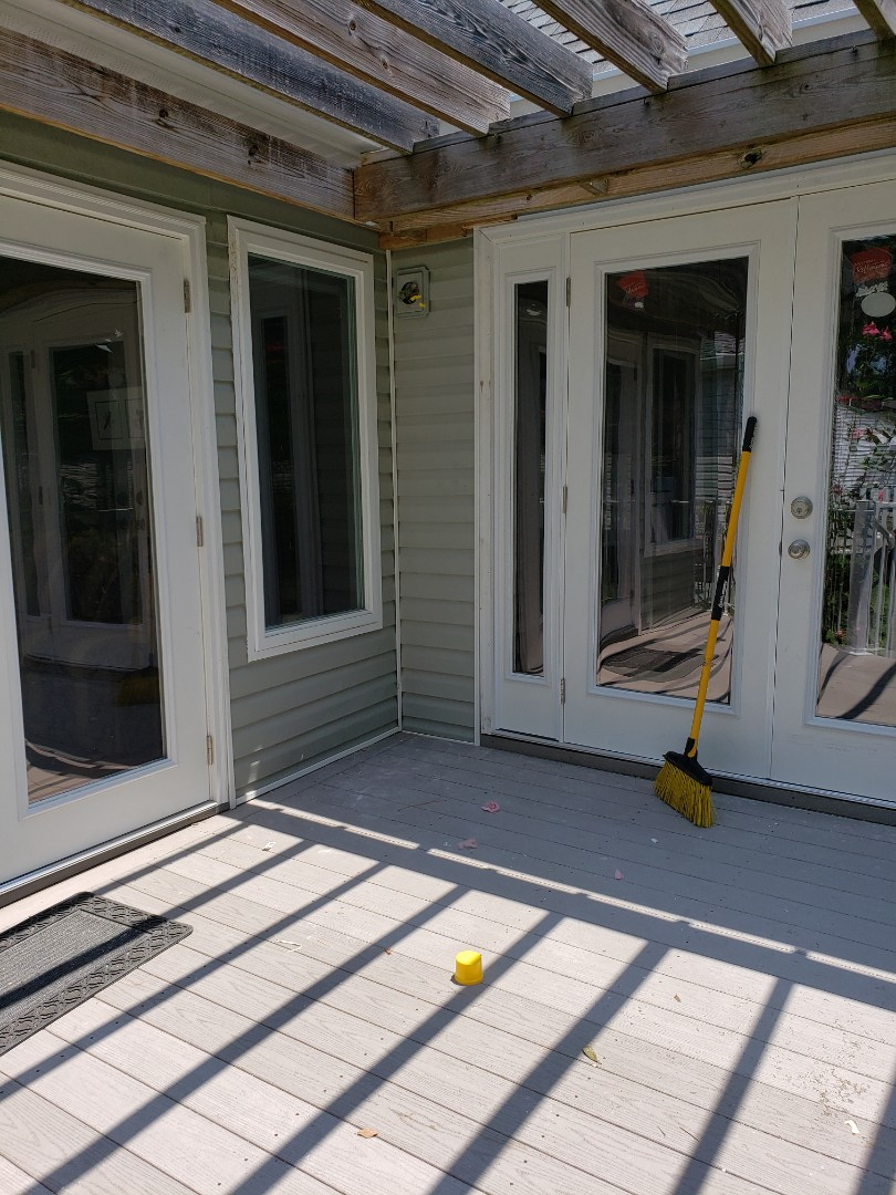 Aiken, SC - Replacing windows and patio doors with new simonton reflections casement windows and Jenkins millwork doors in aiken with South Point Roofing and Construction