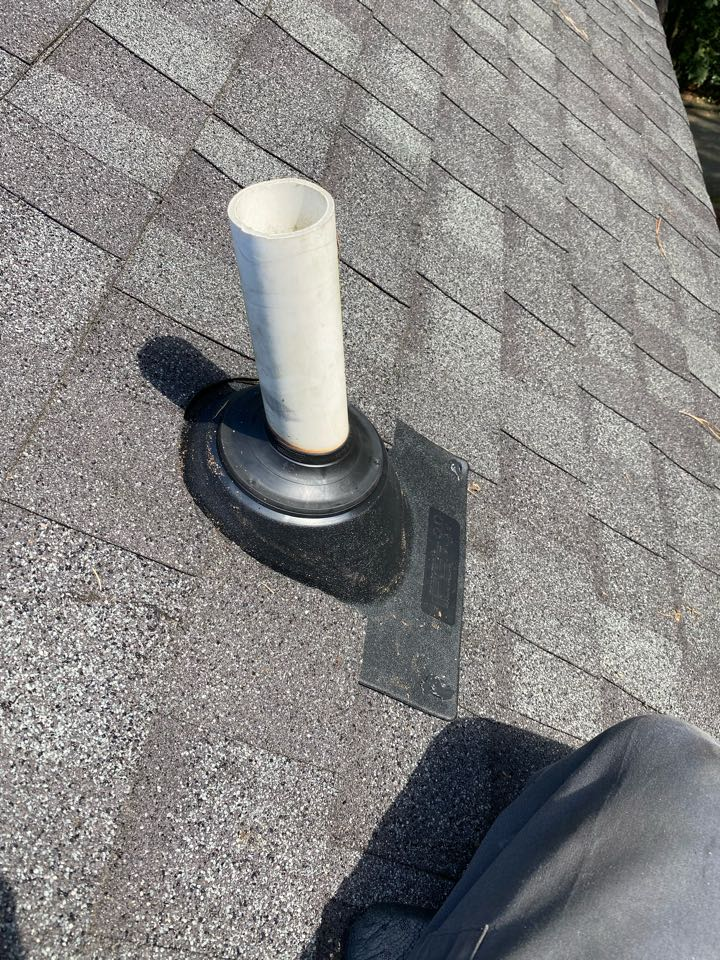 North Augusta, SC - South Point Roofing and Construction replacing IPS 3in1 style plumbing boots in North Augusta SC