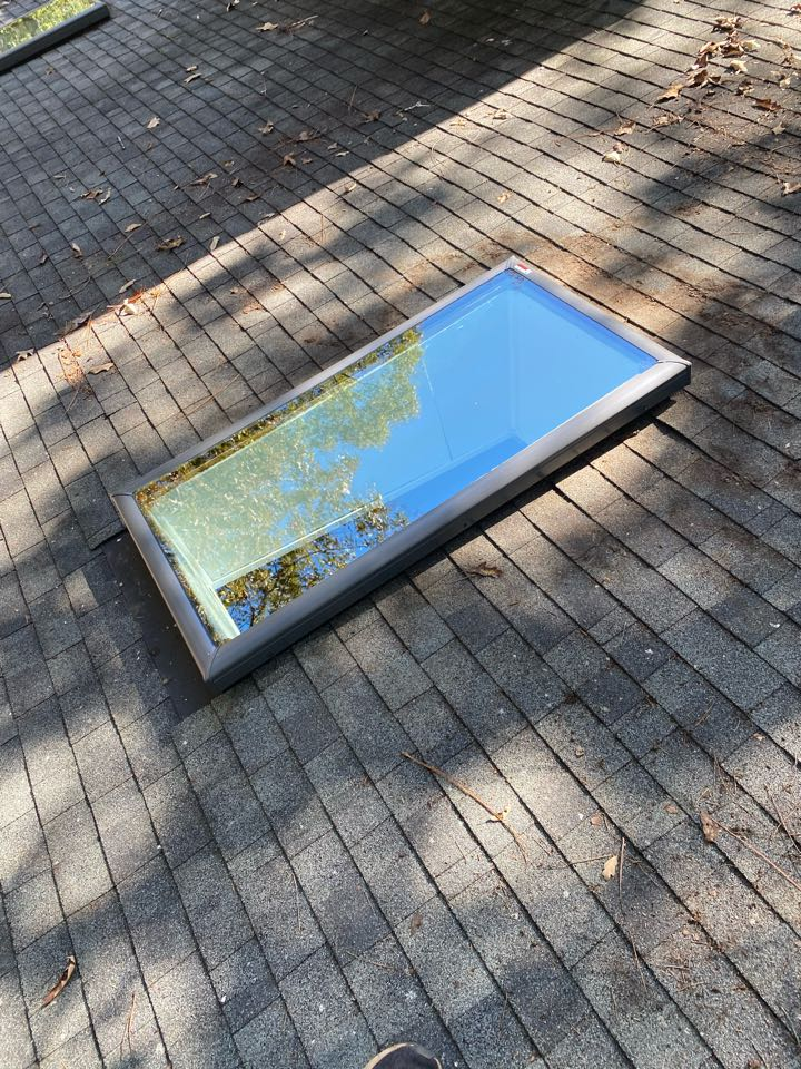 Aiken, SC - South Point Roofing and Construction replacing skylights with new Velux Skylights in Aiken SC
